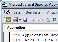 VBA Programmierung Outlook, Excel, Word